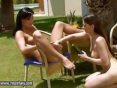 Simone Peach and Eve Angel understand all round carrying-on with some