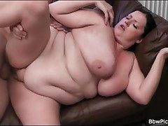 BBW blows pain blarney added to gets fucked