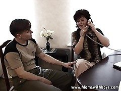 Mature Schoolgirl Councilor Is Horny As Hell